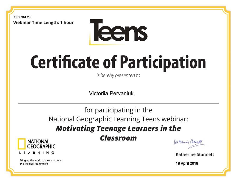 motivating teenage learners