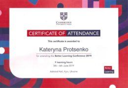protsenko better learning conference 2019